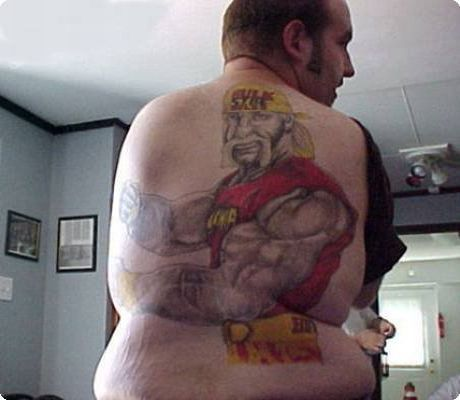 Hulk Hogan Tattoo Ugly Turtle